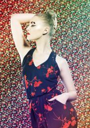 Model: Kelly-Anne Watson; Photographer: Sam Johnson; Stylist: Sophie Antropik