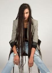 Model: Sarah Buller; Photography: Tom McCabe; Stylist: Sophie Antropik