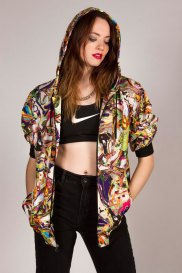 Model: Kirstyn Luton; Photographer & Stylist: Talia Welka
