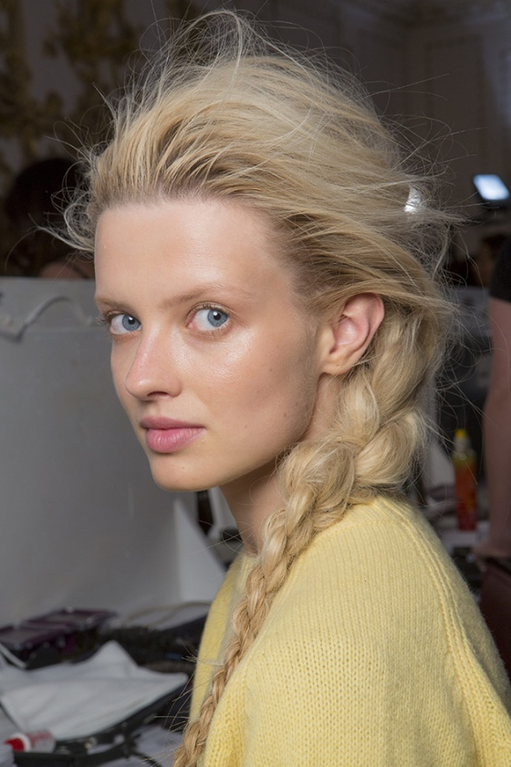 (LFW: Giles S/S'14 w/ credit to Toni&Guy for hair-style)